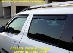 Дефлекторы окон (ветровики) Renault Logan MCV 5D 2007-> / 4шт/ Combi Heko