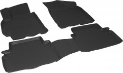Коврики в салон полиуритановые Chevrolet Lacetti (04-) серые