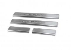 Накладки на пороги BMWX5 I (E53)