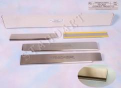 NataNiko Накладки на пороги Chevrolet TRACKER / TRAX
