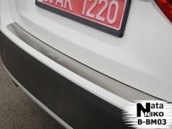 Накладка на бампер BMW  X1( Е84)