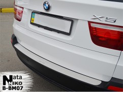 Накладка на бампер BMW  X5 II (E70)