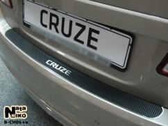 NataNiko Накладка на бампер Chevrolet  CRUZE 4D