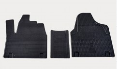 Stingray Коврики в салон резиновые Peugeot Expert /Citroen Jumpy /Fiat Scudo 95-07 (design 2016) (3 шт)