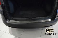 Накладка на бампер Honda  CR-V IV