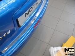 NataNiko Накладка на бампер Nissan  NOTE