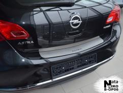Накладка на бампер Opel  ASTRA IV J 5D