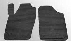 Коврики в салон резиновые Skoda Fabia 00-/07-/Roomster 06-/VW Polo 02-/ Seat Ibiza 03-/Cordoba 03- (design 2016) (2 шт)