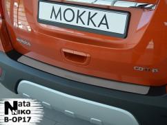 Накладка на бампер Opel  MOKKA