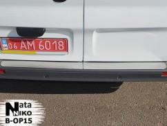 Накладка на бампер Opel  VIVARO I