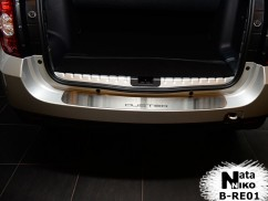 Накладка на бампер Renault  DUSTER