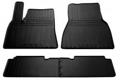 Stingray Коврики в салон резиновые TESLA Model S 12- (special design 2017) (4 шт)
