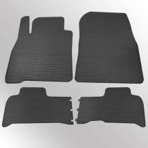 Stingray Коврики в салон резиновые Toyota Land Cruiser 200 07-/Lexus LX570 08-/14- (design 2016) (4 шт)
