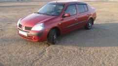 Ветровики Renault Symbol 2002-2008  Cobra Tuning
