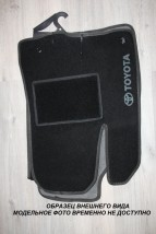 Коврики салона текстильные  Daewoo Nexia (05-)  черные