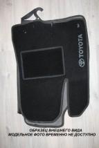 Коврики салона текстильные  Ford Fiеstа Mk 6 (13-)  черные