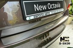 NataNiko Накладка на бампер Skoda  OCTAVIA III A7