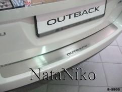 NataNiko Накладка на бампер Subaru  OUTBACK IV (BM)
