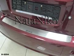 NataNiko Накладка на бампер Suzuki  SX4 4D