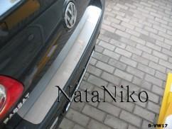 NataNiko Накладка на бампер Volkswagen PASSAT B6 4D