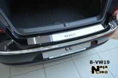 NataNiko Накладка на бампер Volkswagen PASSAT CC