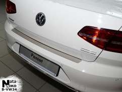 NataNiko Накладка на бампер Volkswagen PASSAT B8 4D