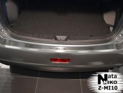 Накладка на бампер с загибом Mitsubishi ASX 1FL