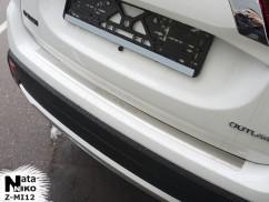Накладка на бампер с загибом Mitsubishi OUTLANDER III FL