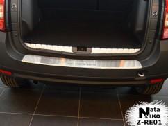 Накладка на бампер с загибом Renault DUSTER