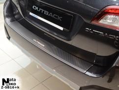 Накладка на бампер с загибом Subaru OUTBACK V (BS)