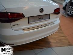 NataNiko Накладка на бампер с загибом Volkswagen JETTA VI