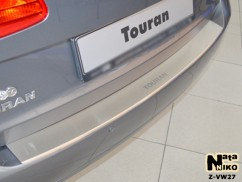 NataNiko Накладка на бампер с загибом Volkswagen TOURAN II