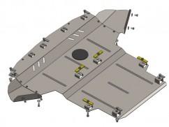 Кольчуга Защита двигателя, коробки передач, радиатора Audi A4 B6/A4 В7
