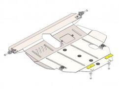 Защита двигателя, коробки передач, радиатора BYD F3