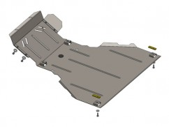 Защита двигателя, коробки передач, радиатора Chevrolet Niva