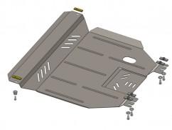 Защита двигателя, коробки передач, радиатора частично Daewoo Lanos