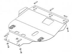 Защита двигателя, коробки передач, радиатора Ford Focus II