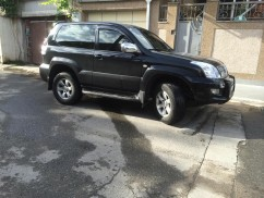 Ветровики Toyota Land Cruiser Prado 120 3d 2003-2008  Cobra Tuning