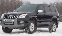 Ветровики Toyota Land Cruiser Prado 120 5d 2003-2008  Cobra Tuning