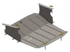 Защита двигателя, коробки передач, радиатора Nissan Interstar 1998-2010