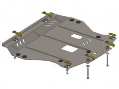 Защита двигателя, коробки передач, радиатора Nissan Juke 2011-