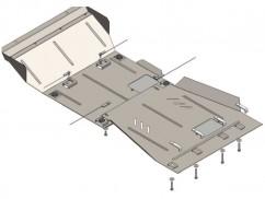 Кольчуга Защита двигателя, коробки передач, радиатора , редуктор Nissan Pathfinder III 2005-2012