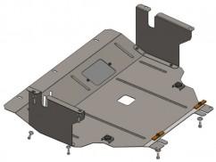 Защита двигателя, коробки передач, радиатора Opel Vivaro 2001-