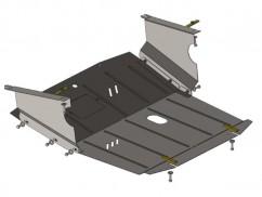 Кольчуга Защита двигателя, коробки передач, радиатора Renault Master 1998-2010