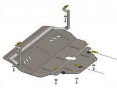 Защита двигателя, коробки передач, радиатора Skoda Fabia II 2007-