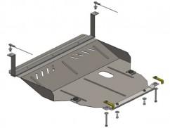 Кольчуга Защита двигателя, коробки передач, радиатора Skoda Octavia I A4 1997-2010
