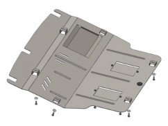 Защита двигателя, коробки передач, радиатора и кондиционера Volkswagen T-5 2003-