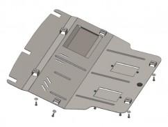 Защита двигателя, коробки передач, радиатора и кондиционера Volkswagen T-6 2009-