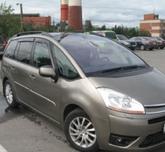 Ветровики Citroen C4 Grand Picasso I 2007-2013  Cobra Tuning