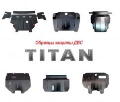 Титан Защита  радиатора и двигателя BMW X6 E71 2007-